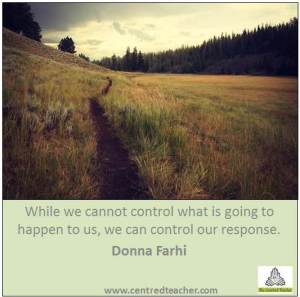 control our response