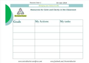 Resource Sheet 2_Goals Actions and Tasks