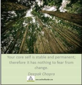 your core self_centred